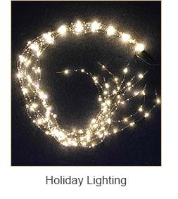 Ngoài Trời Led Giáng Sinh Tree Đảng Ánh Sáng Pin Hoạt Động Led Chuỗi Dây Đèn