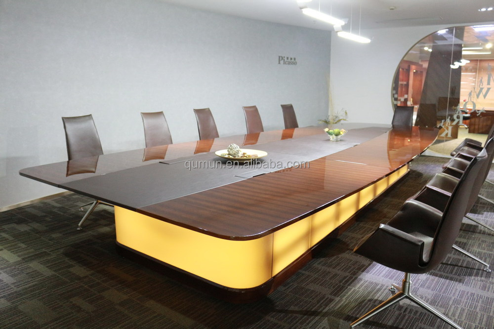 China Supplier Office Furniture Conference Table Meeting Desk For - 20 person conference table
