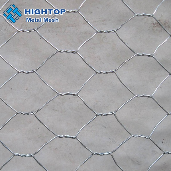 Maille hexagonale anping Gabions Maille grillage philippines