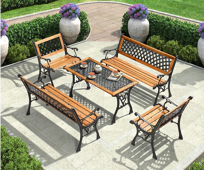 Venta al por mayor conjuntos jardin hierro forjado-Compre online los ...
