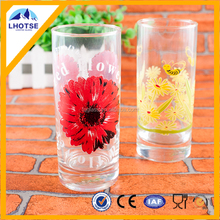 8oz Excellent Food Grade Customerized Printing Decal Cheap Glassware Wholesale Nanjing/Shanghai Port