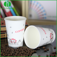 disposable bamboo fiber anti-scald foaming paper cup take out manufacture
