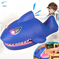 XFC Electric Luminous Shark Bite Finger Toy Sound Snapping Family Challenge Game Educational Crocodile Teeth Game