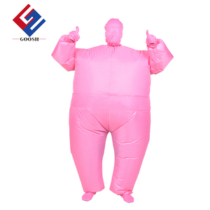 Halloween lovely funny inflatable clothing adult size whole body suit costume inflatable full body suit costume