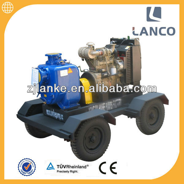 10 PH Deutz diesel self priming pump