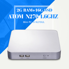 Hot Selling N270 2g ram 32g ssd Computer Networking Thin Client Computer Desktop Computer Mini Pc Industrial Mini Pc