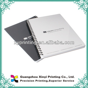 PVC cover kids exercise notebooks