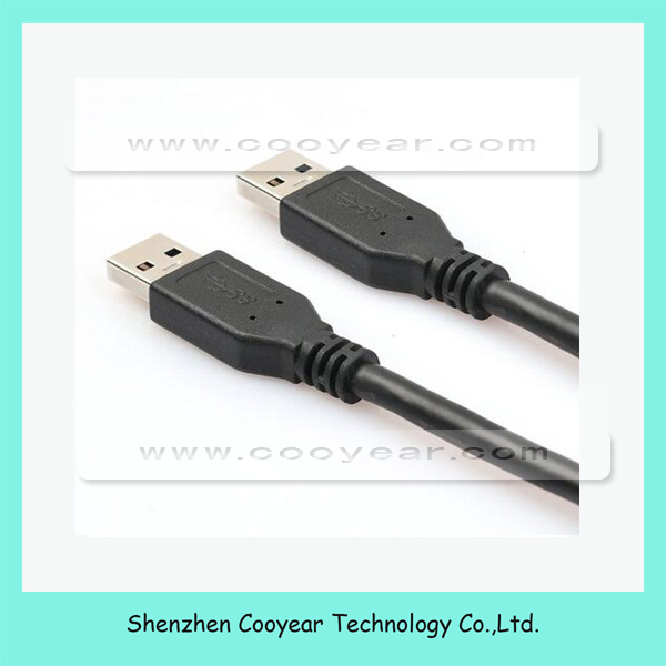 USB 3.0 Extension Cable 1M 0.6M 1.5M 3M USB A type Male to Male Sync Data Charger Cable for HDD Car MP3 Camera in blue and black