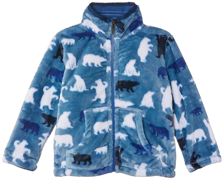 Hatley Kids Mens Fire Breathing Dragons Microfiber Rain Jacket Toddler//Little Kids//Big Kids