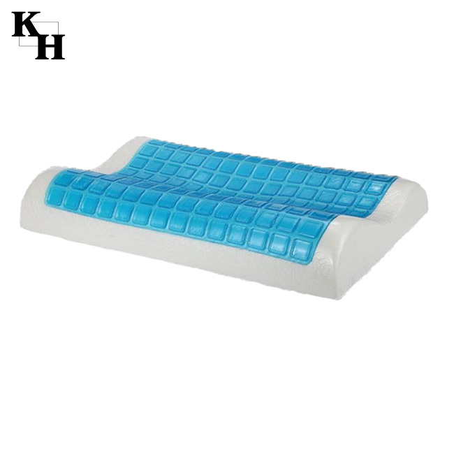 Pillow factory in China neck rest memory foam gel pillow