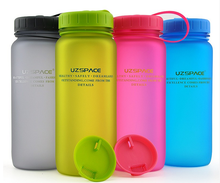 Wide Mouth 400ml 500ml to 1000 ml Plastic water Bottle
