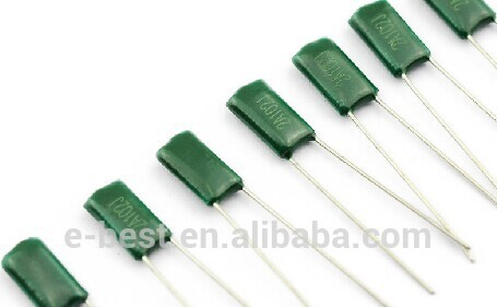 capacitor 2A104 100V 0.1UF 100NF Polyester capacitor