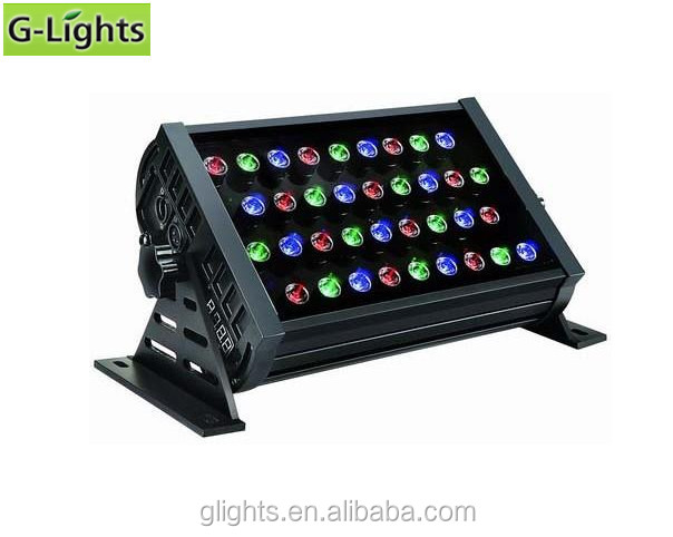 RGB led <strong>flood</strong> lighting 36W square wall washer light High Mast Lighting