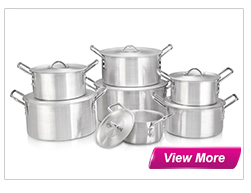 die-casting aluminium ceramic cookware/pot set for european market