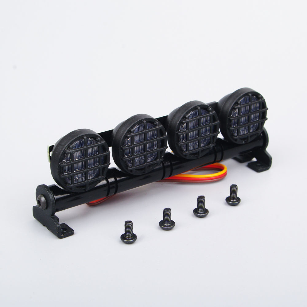 Buy rc car light multi function ultra round led headlight bar round buy rc car light multi function ultra round led headlight bar round fit 110 18 scale model parts accessories ax 506w white in cheap price on mibaba aloadofball Image collections