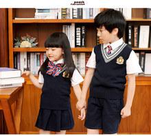 e75fc11ac 2016 últimas diseño Niños Estudiantes de la escuela primaria de ropa  uniformes boutique bebé niños y