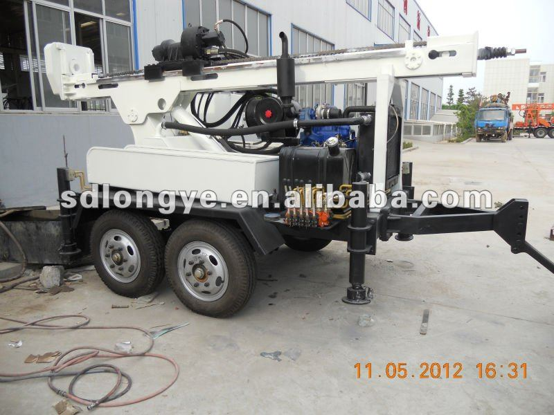 SLY400T wheel water well drilling rig