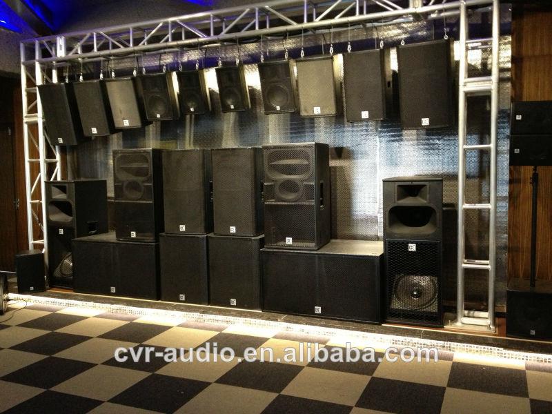 Cvr Pro Audio 8 Inch Top Speaker + 15 Inch Subwoofer Speaker + ...