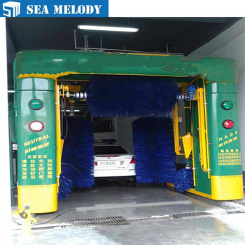 Automatic Rollover Car Washing Machine with smart dryers
