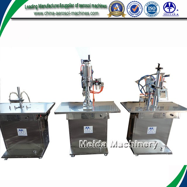 QGBW MDI inhaler aerosol spray filling machine for medicine products
