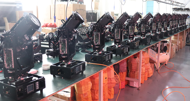 IP55 Waterproof 350 17r beam moving head light for outdoor stage event