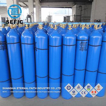 Oxygen Gas Cylinder High Pressure Oxygen Bottle Weight Of Oxygen Cylinder -  Buy Weight Of Oxygen Cylinder,Tped Oxygen Bottle,230bar Weight Of Oxygen