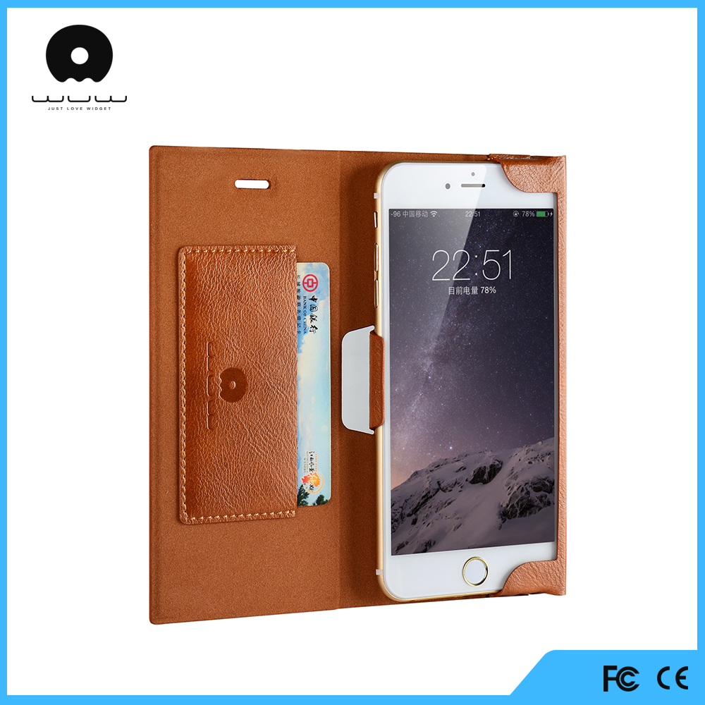 factory top selling bookstyle stand flip phone leather case with card holder universal for iphone 6 7 8