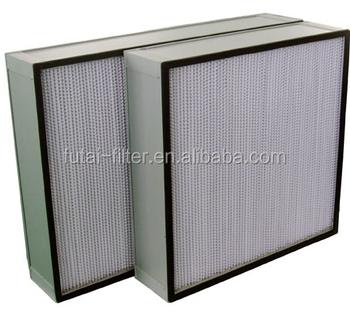 H13 Aluminum Frame 24x24 Washable Mini Pleat Hepa Filter - Buy High Quality  Aluminum Hepa Filter,Washable Hepa Filter,Hepa Filter Product on