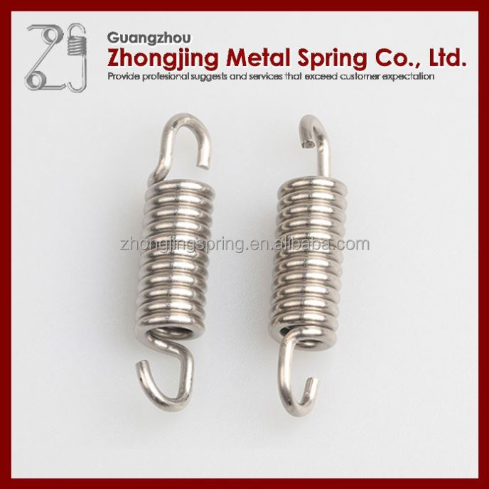 Small Double Ring Spiral Extension Spring