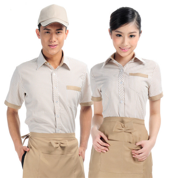 Chinese restaurant hotel waiter uniform