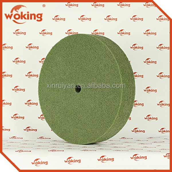 Metal Grinding Wheel Non-woven Nylon Polishing Wheel China Wholesale Manufactuer