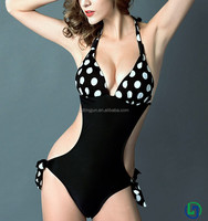 2015 sexy one piece full cover girls swimwear european swimwear women