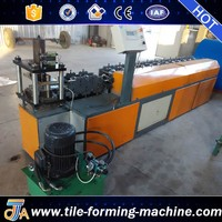 12 Stations Chain Transmission Metal Shutter Door Slats Roll forming Machine for sale by bello lin