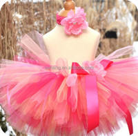 Pink Baby Girl Tulle Tutu Skirts for Kids