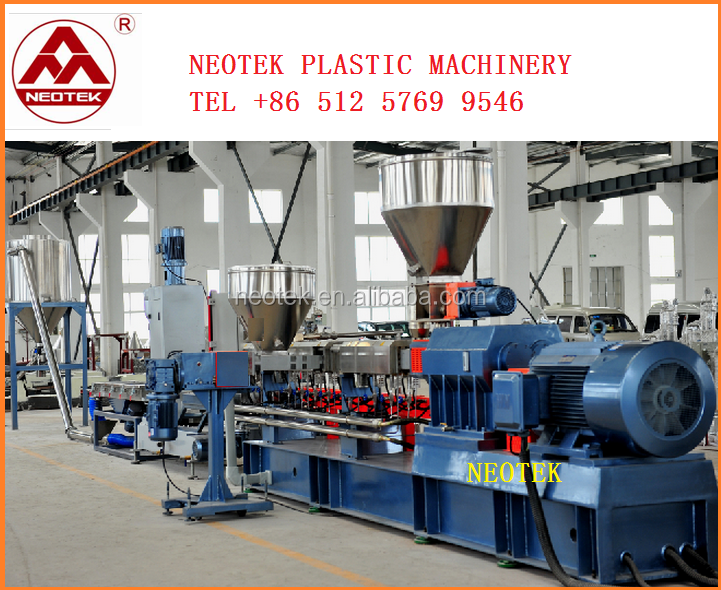nice flame retardent Low smoke free halogen compounds plastic extrusion machine /Low smoke halogen free granulate extrusion line