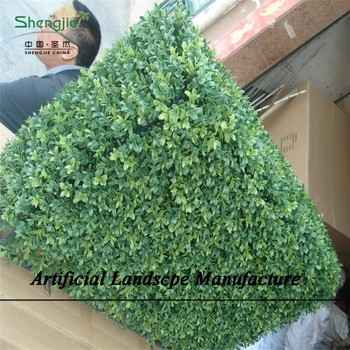 Artificial Plants Outdoor Green Foliage Wall Decoration , Fern Wall Decore  Plastic Plant
