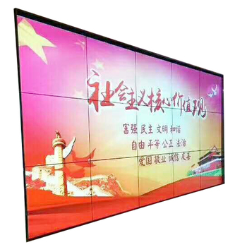 Best Price 5 x 3 Size LCD Screen Advertising Players Video Wall Splicing Screen