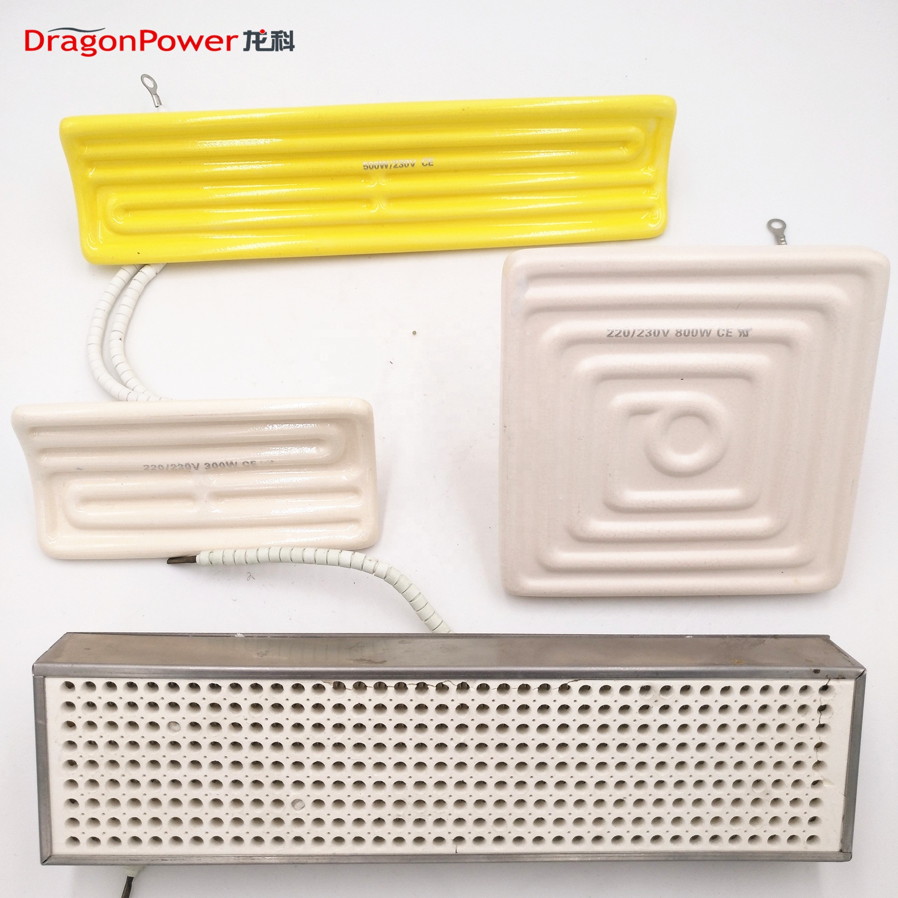 Customized Infrared Ceramic Heating Elements Made By China