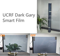 UCEF Tinting film Switchable solar control window films electric film for building glass