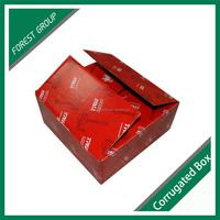 Small kraft brown cardboard box for cigarettes