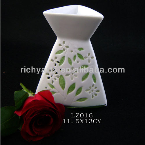 wholesale ceramic fragrance oil burner with tealight candle