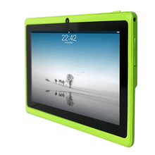 Q88 7 inch Android Allwinner A33 Capacitive Screen Quad Core 512MB+4GB, Dual Camera, External 3G Tablet PC free shipping