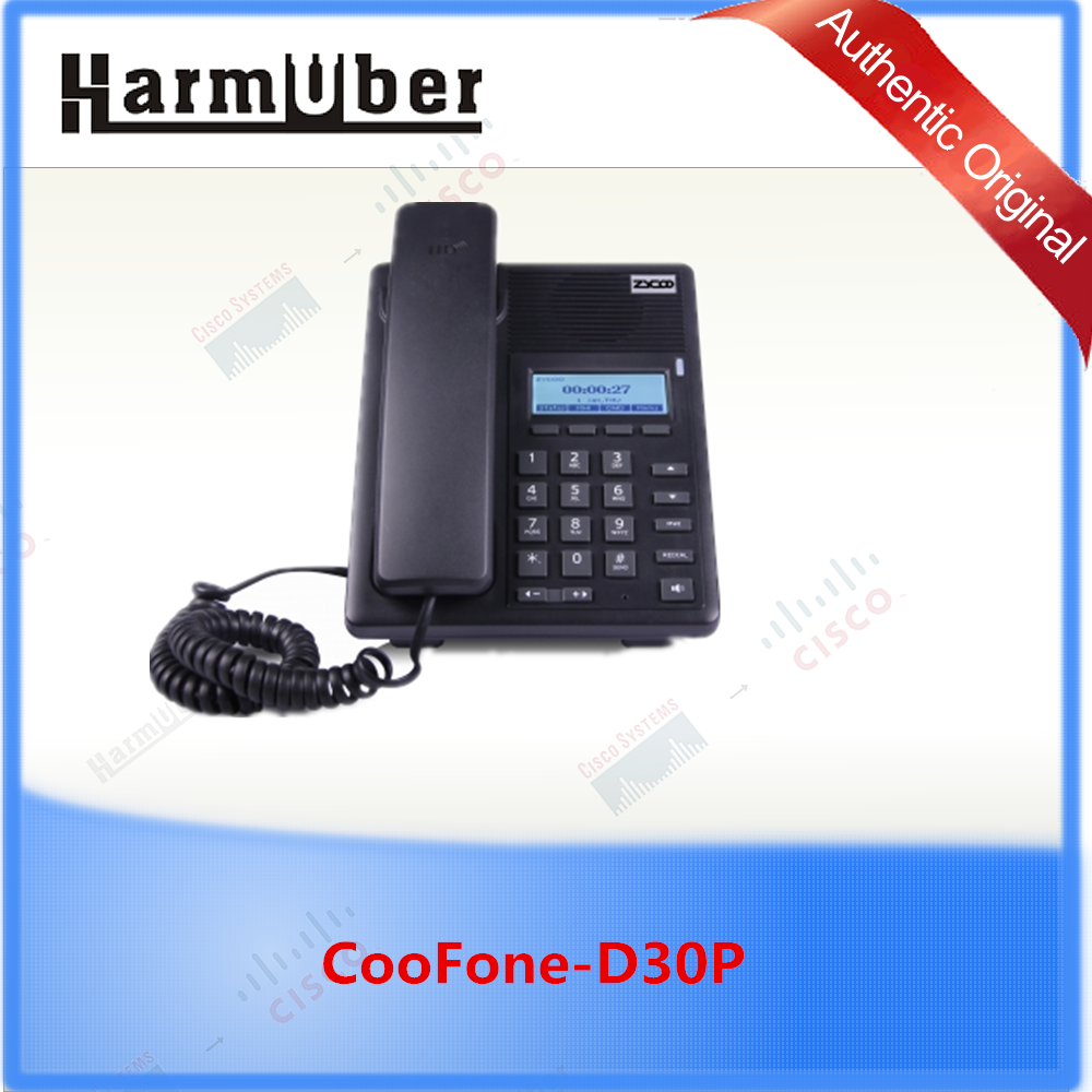 Zycoo CooFone-D30P, High performance and low Cost VoIP Phone with HD voice