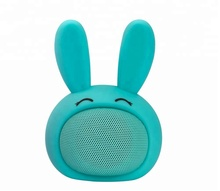 factory price promotional gift audio pet mini wireless Bluetooth speaker in bunny design