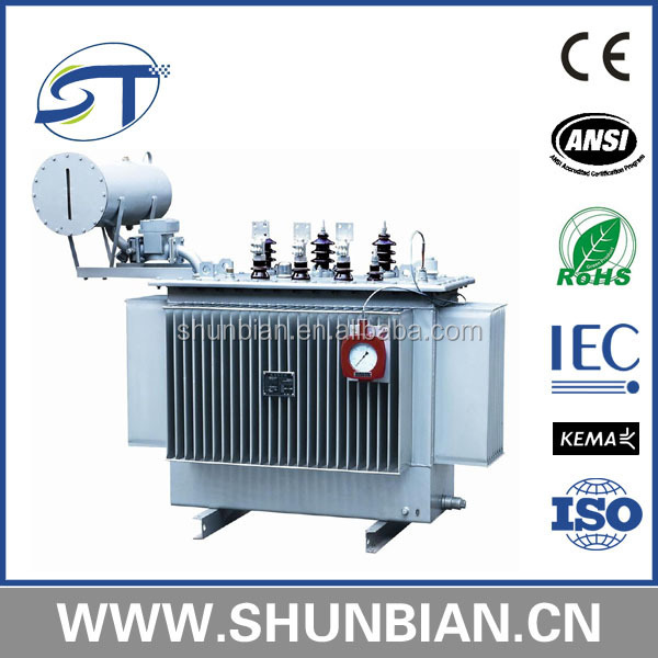Electrical Transformer 500 Kva Oil Type 11kv 22kv 33kv Transformer ...