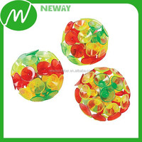 colorful fashion suction cup ball