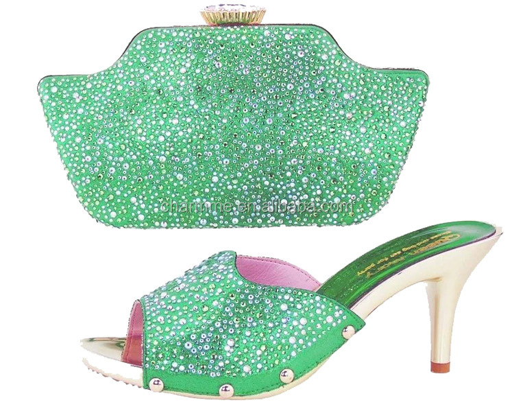 ladies shoes and matching bags with wholesales shoes and bags CSB 767 for shoes and bags