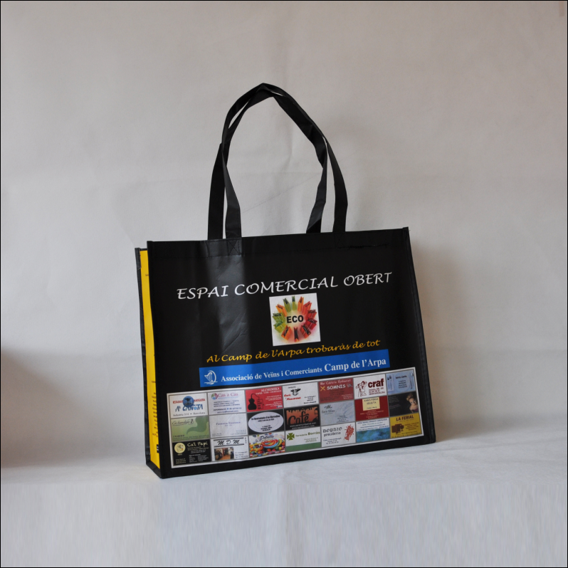 Factory supply laminated non woven bag for exhabition(NW-1282-421)