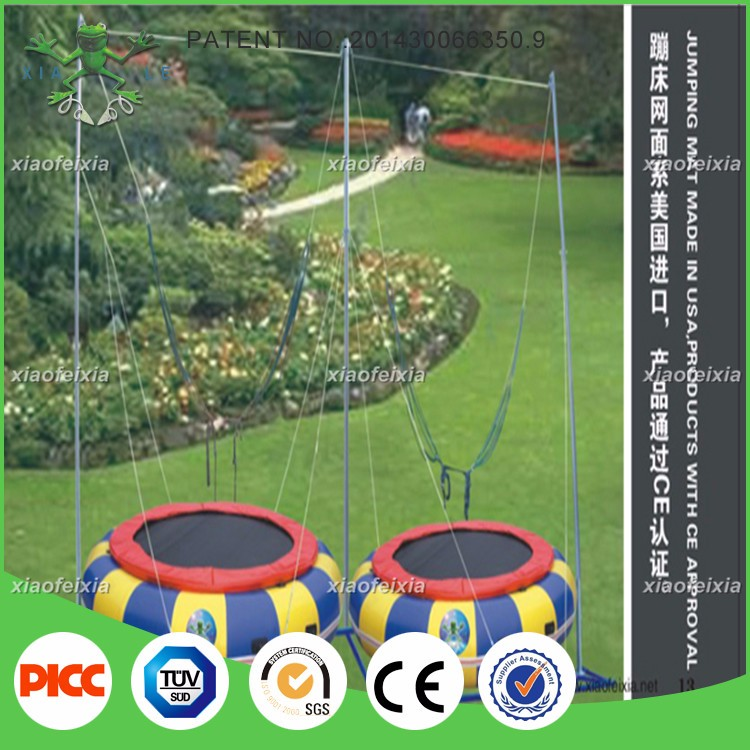 Gymnastics Equipment Bungee Jumping Cord Trampoline For
