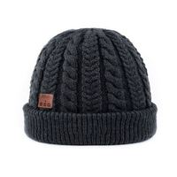 Custom winter hat wholesale winter keep warm beanie hat wool caps
